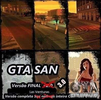 Todas Ruas v3.0 (Las Venturas) for GTA San Andreas