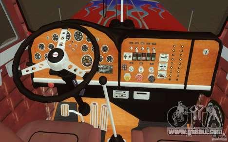 Peterbilt 379 Optimus Prime for GTA San Andreas upper view