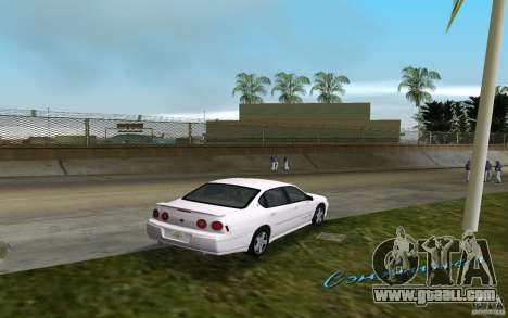 Chevrolet Impala SS 2003 for GTA Vice City right view