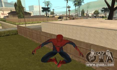 The Amazing Spider-Man Anim Test v1.0 for GTA San Andreas
