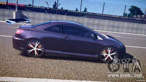 Honda Civic Si Tuning for GTA 4 inner view