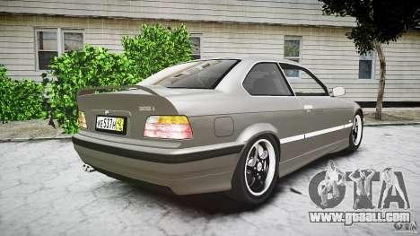 BMW E36 328i v2.0 for GTA 4 side view