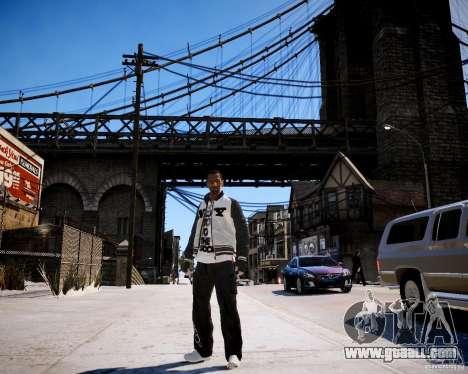 Niko - Cj for GTA 4 forth screenshot