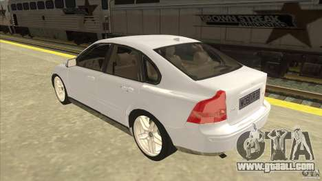 Volvo S40 2009 for GTA San Andreas back left view