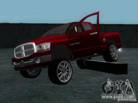 Dodge Ram 1500 v2 for GTA San Andreas side view