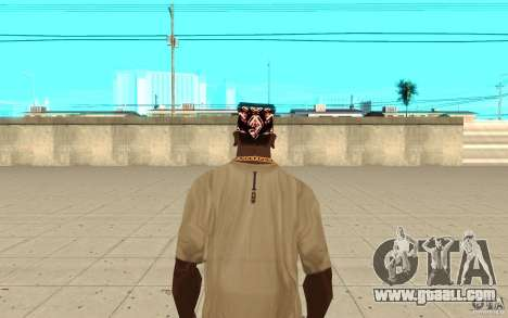 Bandana superman for GTA San Andreas third screenshot