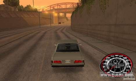 Speedo Skinpack FLAMES for GTA San Andreas third screenshot