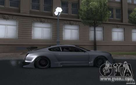 Bentley Continental Super Sport Tuning for GTA San Andreas right view