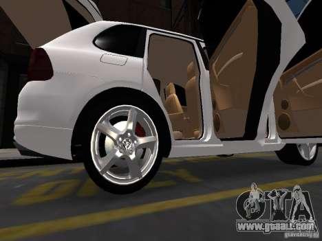 Porsche Cayenne Turbo 2003 v.2.0 for GTA 4 upper view