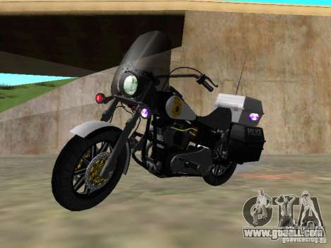 Harley Davidson Dyna Defender for GTA San Andreas