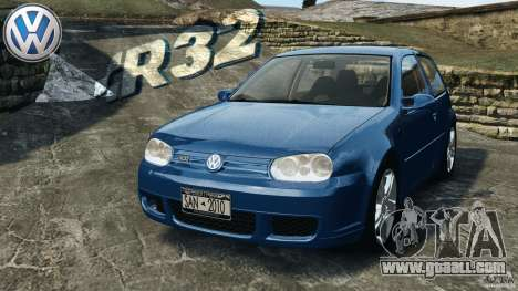 Volkswagen Golf 4 R32 2001 v1.0 for GTA 4