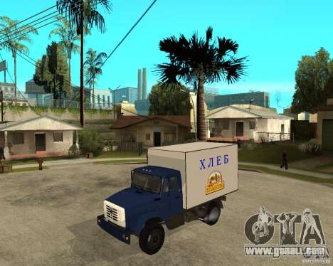 ZIL-433362 Extra Pack 2 for GTA San Andreas left view