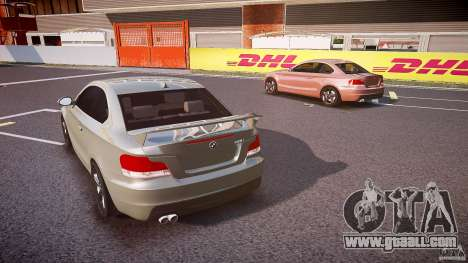 BMW 135i Coupe v1.0 2009 for GTA 4 side view
