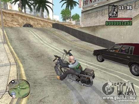 Vagos Biker for GTA San Andreas second screenshot