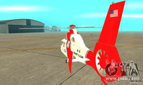 AS-365N United States Coast Guard for GTA San Andreas right view