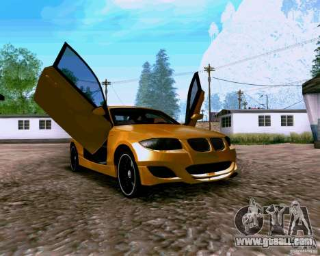 BMW 135 Tuning for GTA San Andreas right view