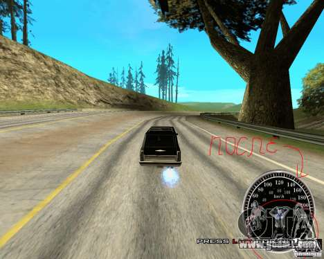 Perenniel Speed Mod for GTA San Andreas third screenshot