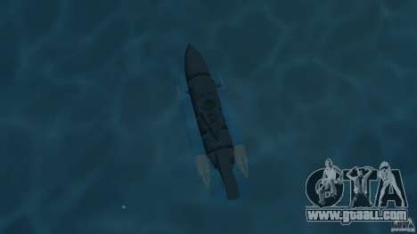 Seehund Midget Submarine skin 2 for GTA Vice City right view