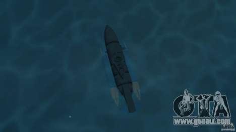 Seehund Midget Submarine skin 2 for GTA Vice City right view