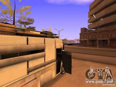 Monster Van for GTA San Andreas bottom view