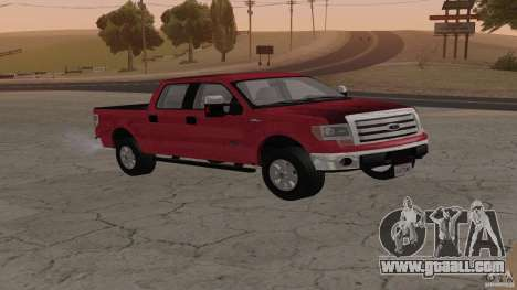 Ford F-150 Platinum Final 2013 for GTA San Andreas