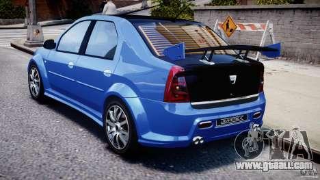 Dacia Logan 2008 [Tuned] for GTA 4 right view