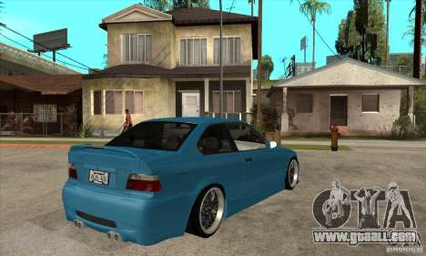 BMW M3 HAMMAN for GTA San Andreas right view