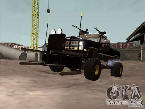 Chevrolet Hunter for GTA San Andreas left view