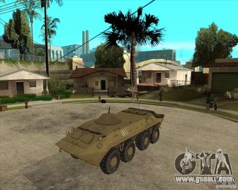 The APC from s. t. a. l. k. e. R for GTA San Andreas