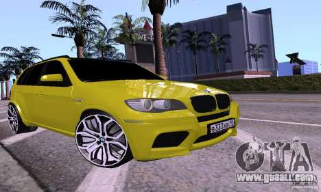 BMW X5M Gold for GTA San Andreas