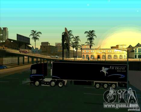 Trailer to the Scania R620 Pimped for GTA San Andreas