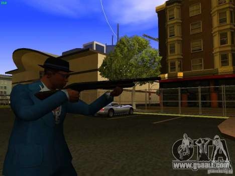 Remington 870 Action Express for GTA San Andreas forth screenshot