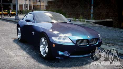 BMW Z4 V3.0 Tunable for GTA 4 back view