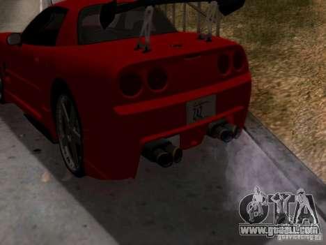 Chevrolet Corvette C5 for GTA San Andreas right view