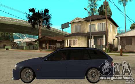 BMW M5 E39 530tdi Touring for GTA San Andreas left view