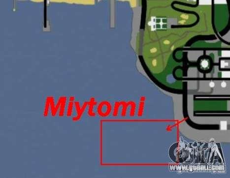 Miytomi for GTA San Andreas fifth screenshot