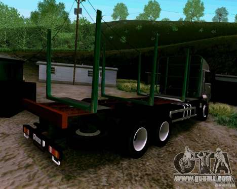 KAMAZ 65117 for GTA San Andreas left view
