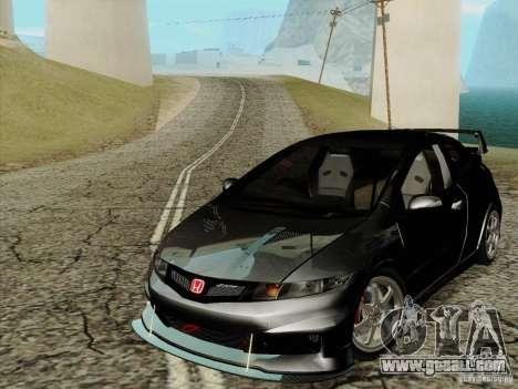 Honda Civic TypeR Mugen 2010 for GTA San Andreas
