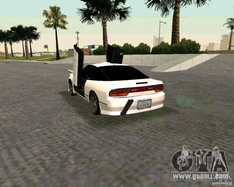 Nissan 240SX S13 for GTA San Andreas left view
