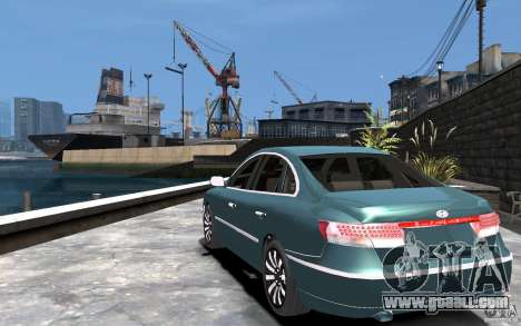 Hyundai Azera 2008 for GTA 4 back left view