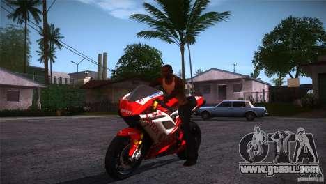 Ducati 1098 for GTA San Andreas