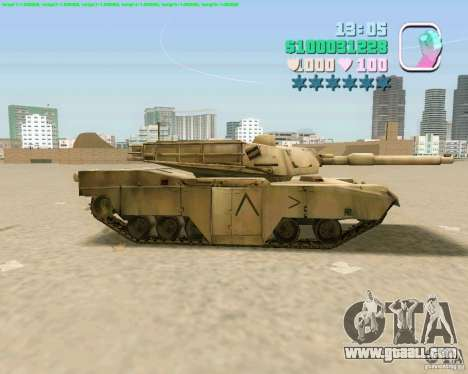 M 1 A2 Abrams for GTA Vice City sixth screenshot