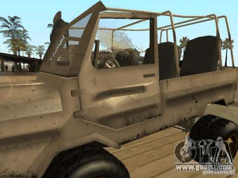 Luaz 969 Offroad for GTA San Andreas upper view