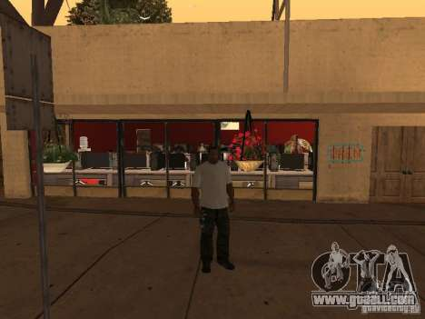 Ganton Cyber Cafe Mod v1.0 for GTA San Andreas