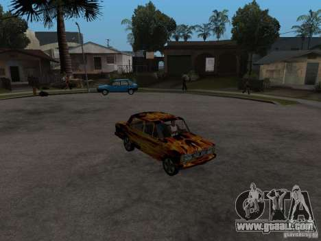 VAZ 2106 of the game S.T.A.L.K.E.R. for GTA San Andreas right view