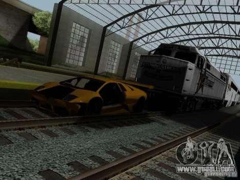 Crazy Trains MOD for GTA San Andreas seventh screenshot