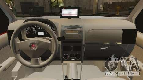 Fiat Palio Weekend Trekking 2013 PMESP ELS for GTA 4 inner view