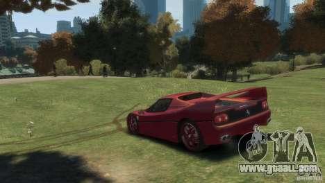 Ferrari F50 for GTA 4 left view