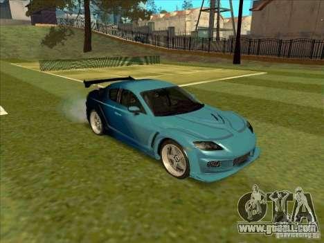 Mazda RX-8 VeilSide from Tojyo Drift for GTA San Andreas