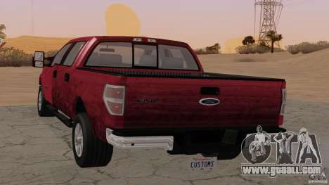 Ford F-150 Platinum Final 2013 for GTA San Andreas left view